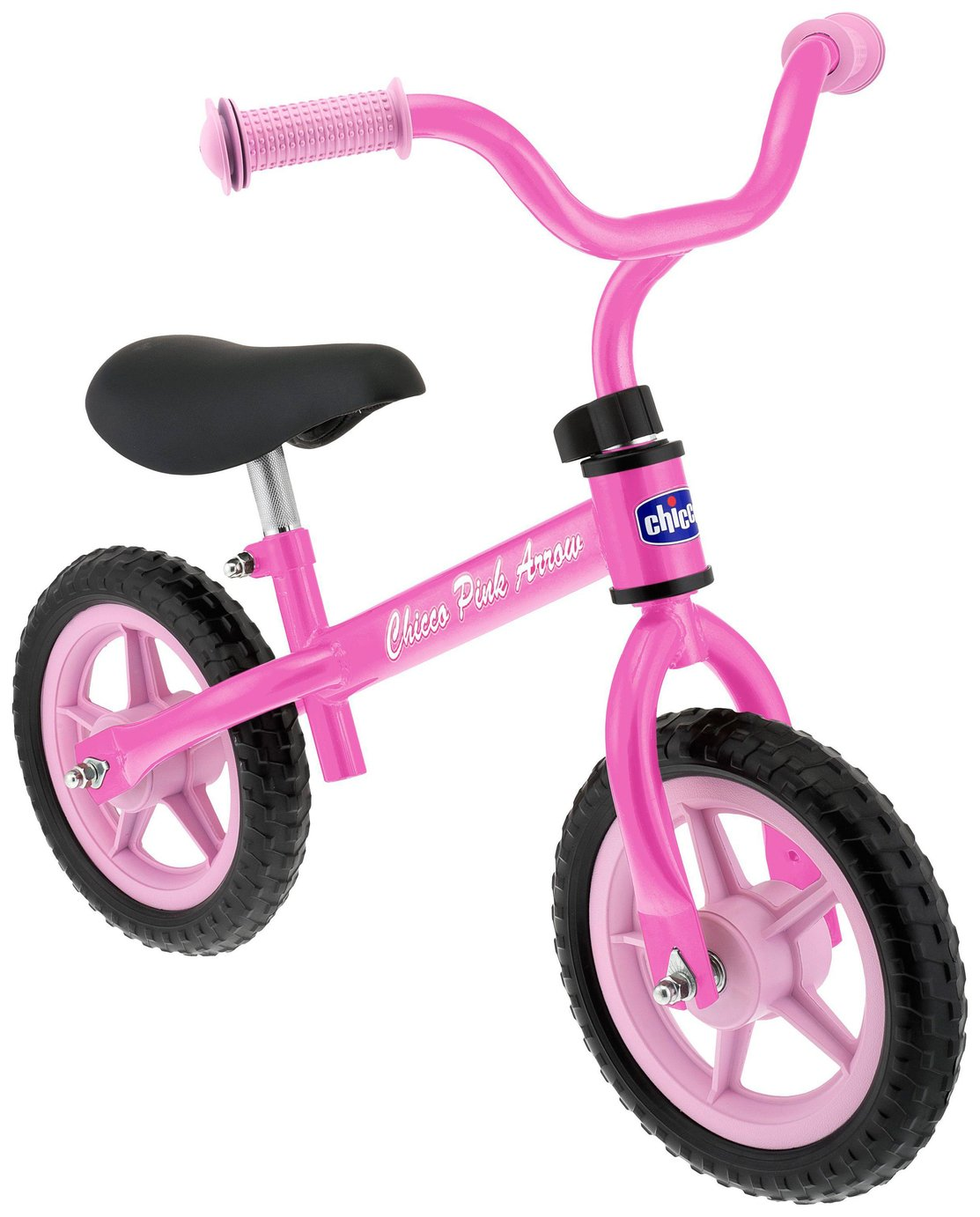 Chicco Pink Arrow Balance Bike.