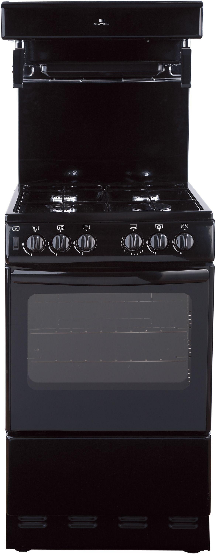 New World NW50THLG 50cm Gas Cooker - Black.