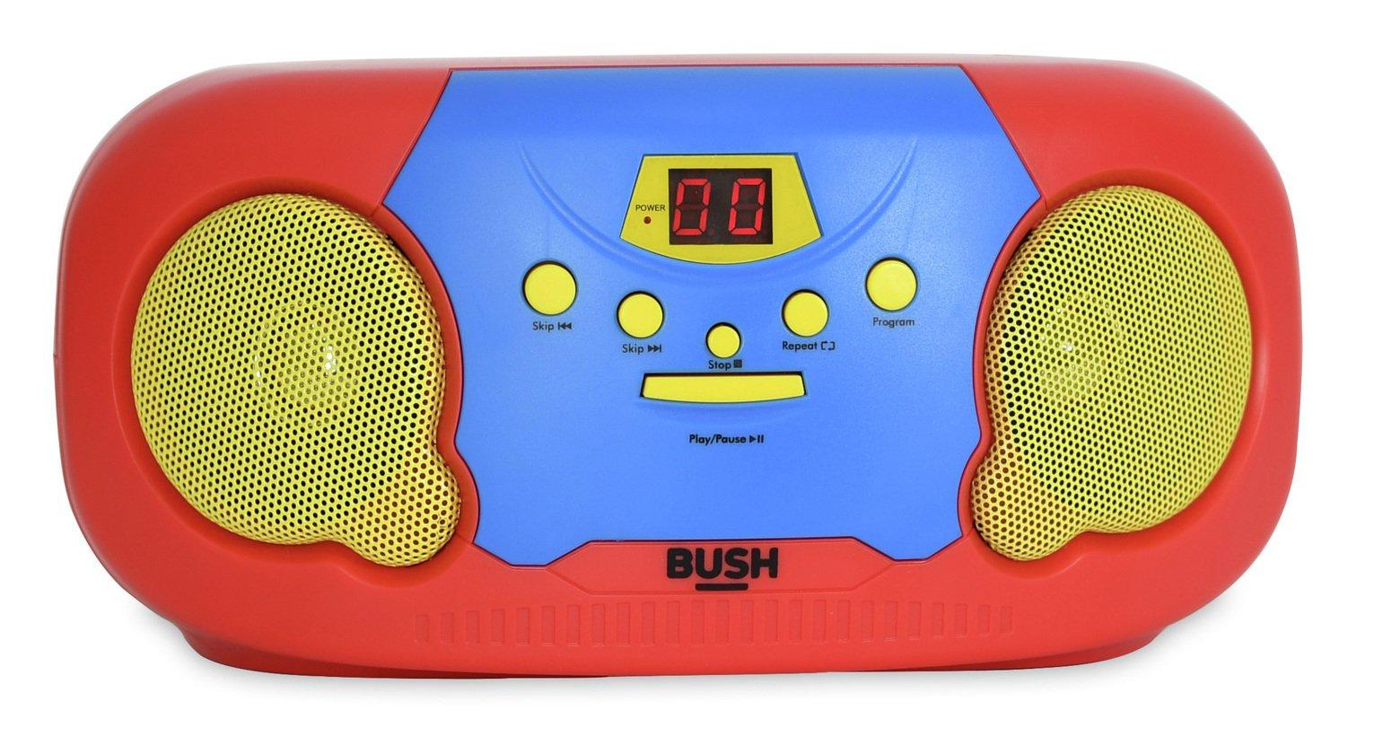 Bush Kids Boombox with Microphone