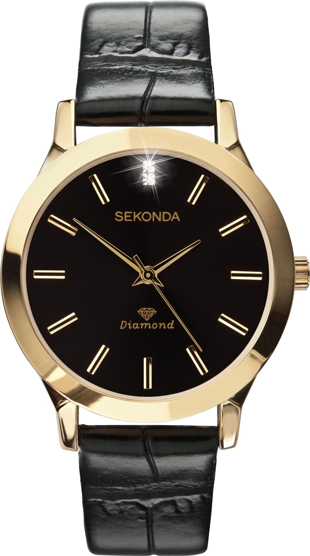 sekonda menu0027s diamond watch