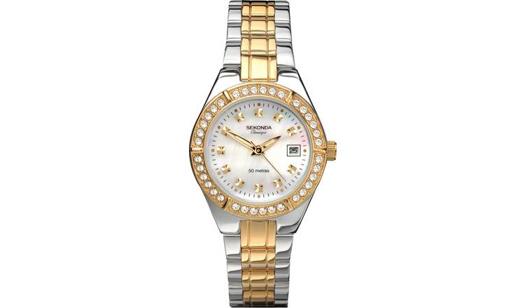Sekonda Classique Ladies Two-Tone Bracelet Watch