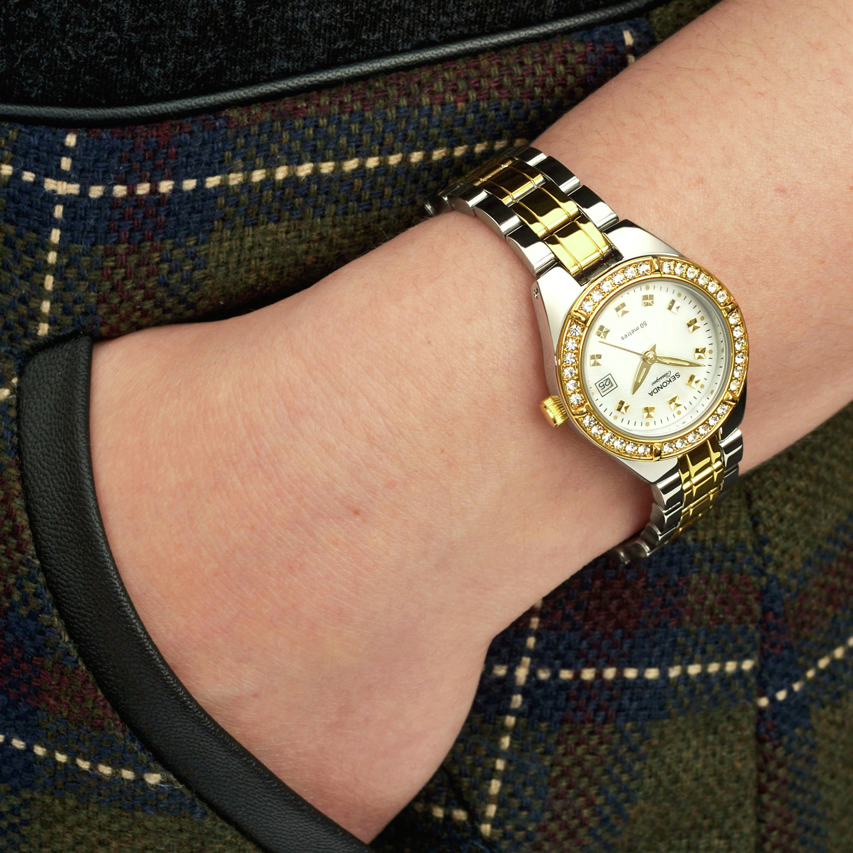 Buy Sekonda Classique La s Two Tone Bracelet Watch at Argos
