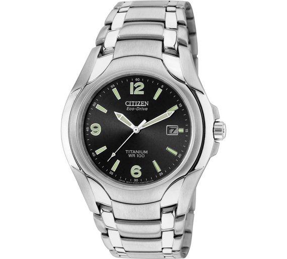 buy citizen men s titanium eco drive bracelet watch at argos co uk citizen men s titanium eco drive bracelet watch283 8816