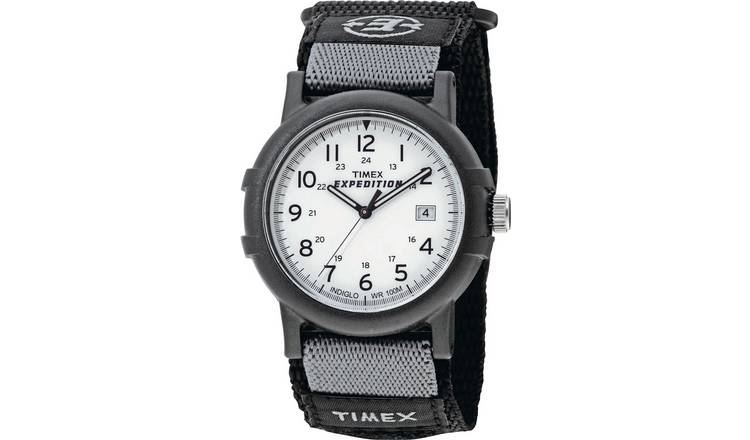 410e437bf Buy Timex Men's Expedition Black Fabric Strap Camper Watch | Men's ...