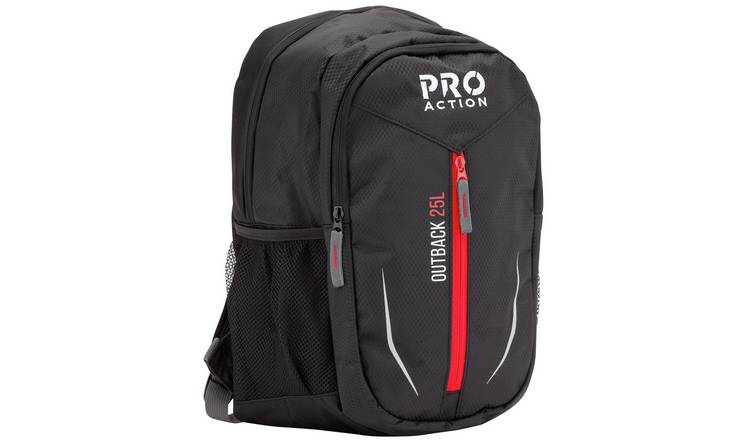 ProAction Outback 25L Backpack - Black
