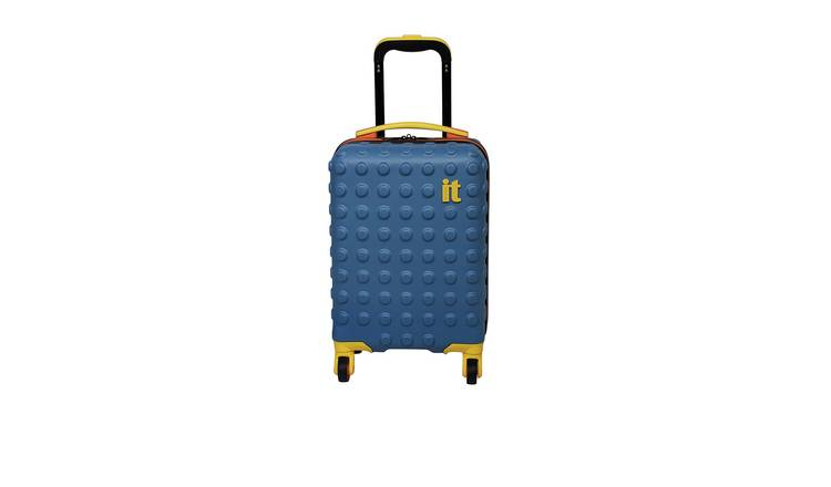 it Luggage Children's Brick 4 Wheel Hard Cabin Suitcase