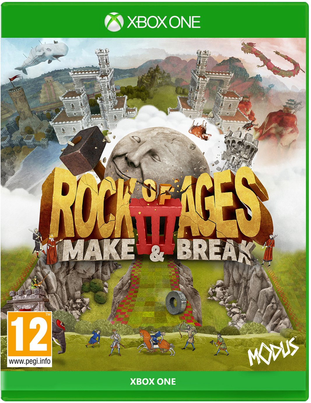 Rock of Ages 3: Make & Break Xbox One Pre-Order Game