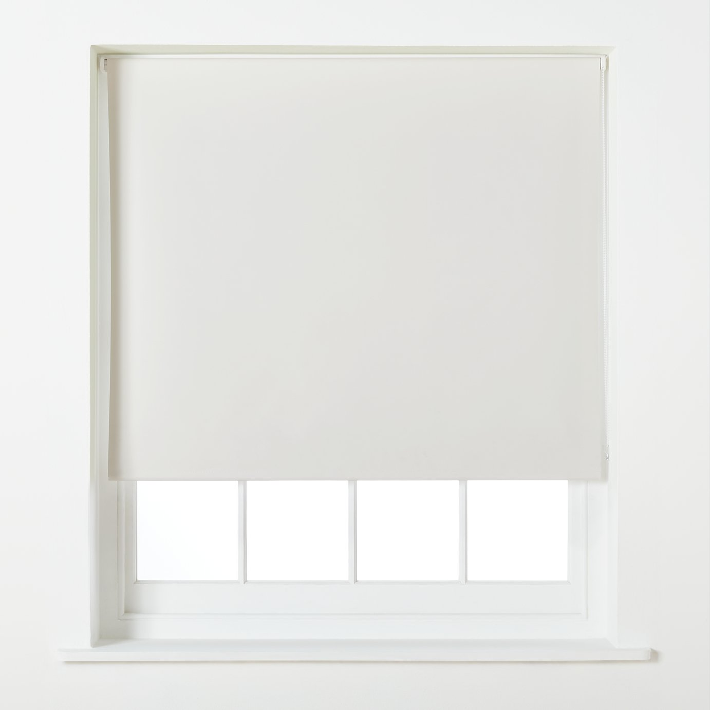 Argos Home Blackout Roller Blind - 2ft - Cream