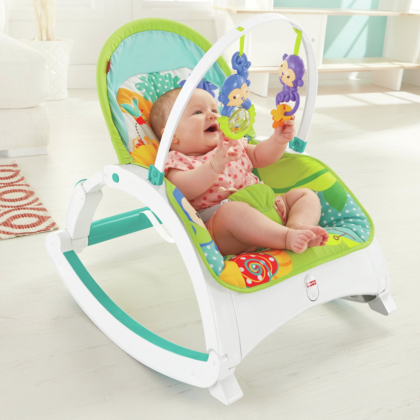Fisher-Price Newborn-to -Toddler Rocker
