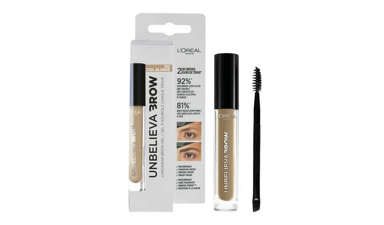 L'Oreal Paris Unbelieva Eyebrow Gel - Cool Blonde
