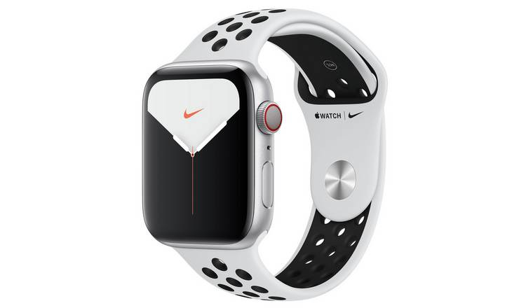 Apple Watch Nike S5 Cellular 44mm Silver Alu/Black Band