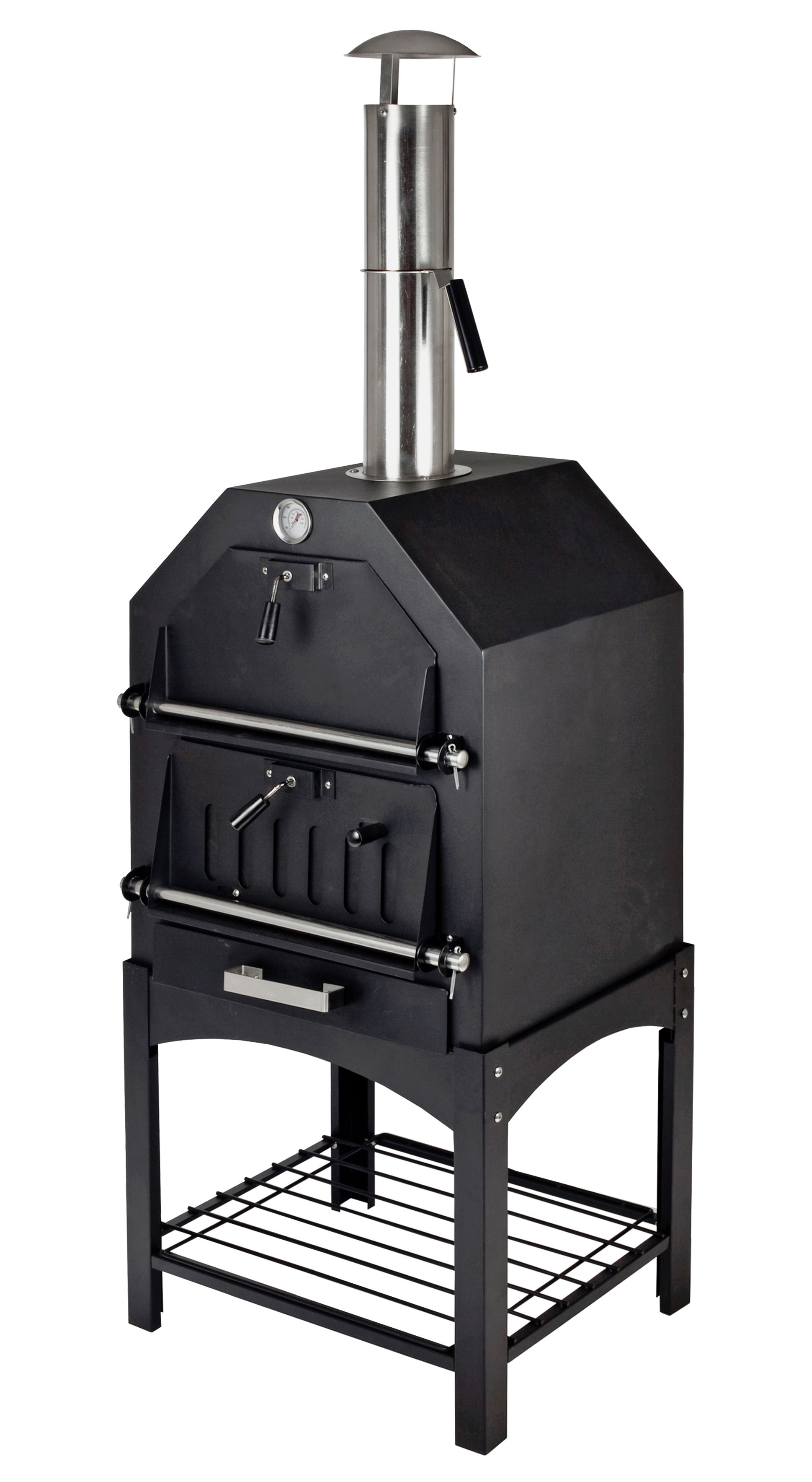 la-hacienda-steel-multi-function-pizza-oven