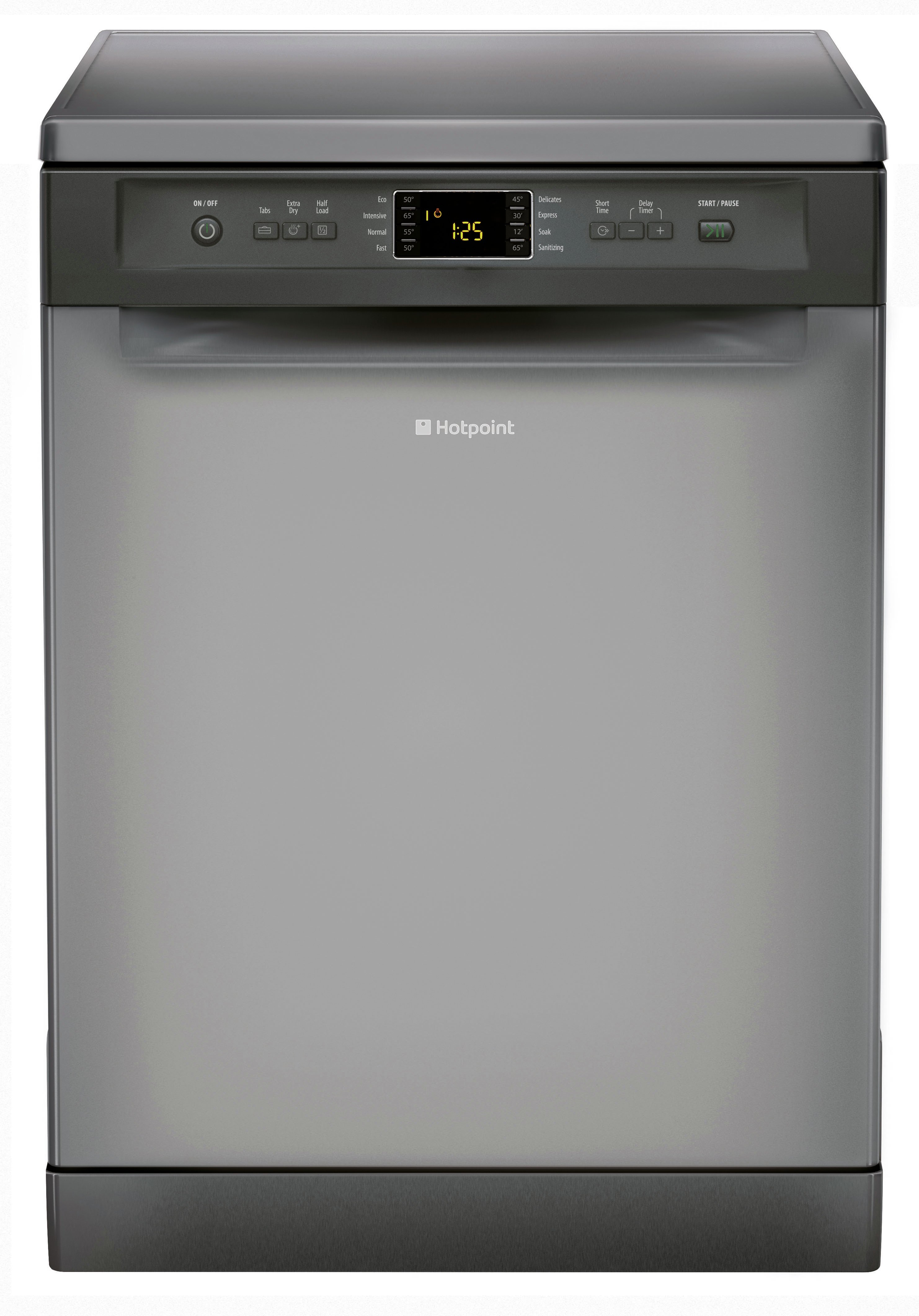 Image of Hotpoint - Extra FDFEX 11011 G Dishwasher - Graphite