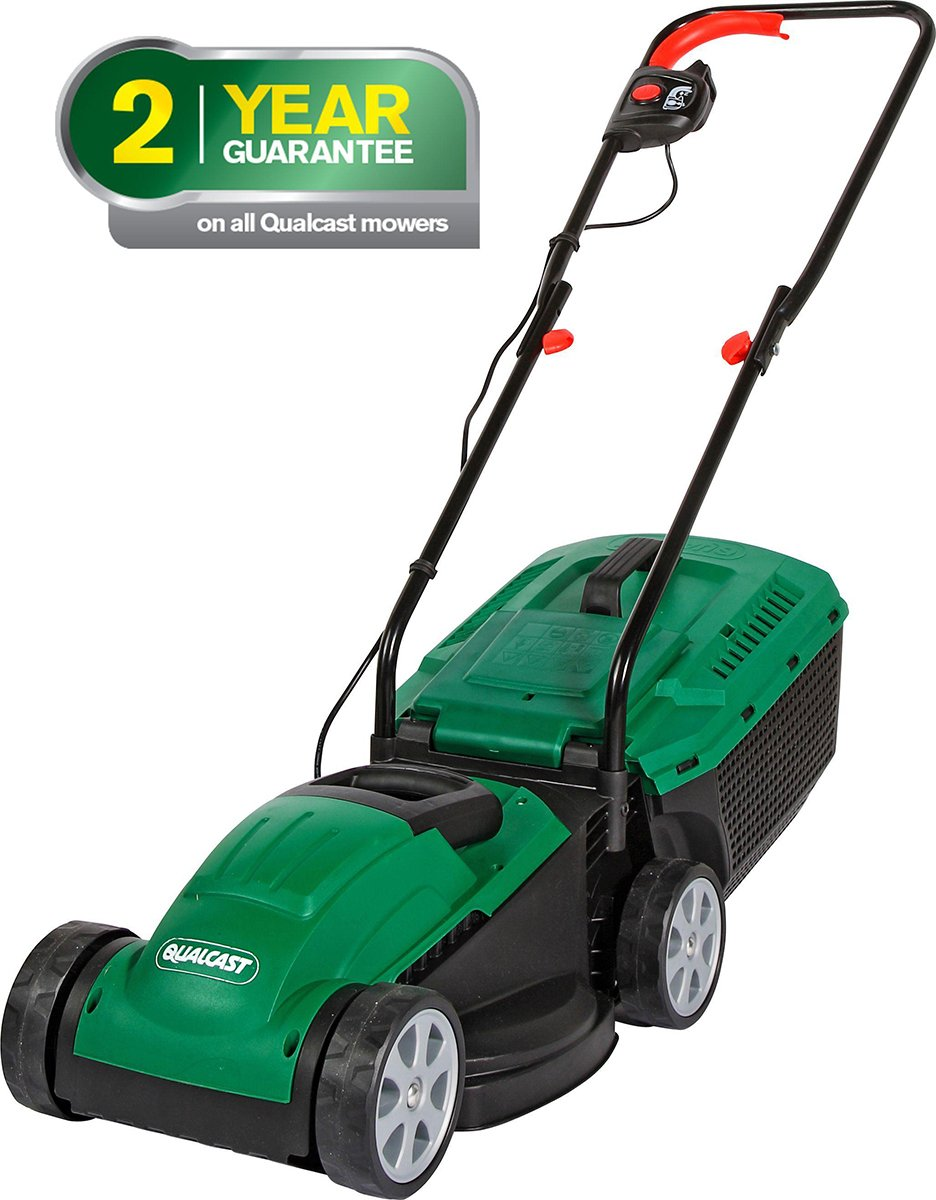 Qualcast - Corded Rotary - Lawnmower - 1200W lowest price