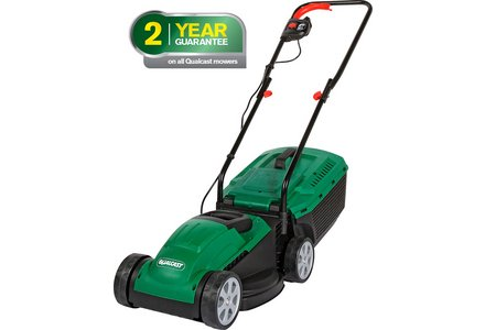 Image of the Qualcast Corded Rotary Lawnmower - 1200W.