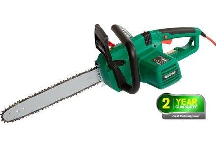 Image of the Qualcast Corded Chainsaw - 2000W.