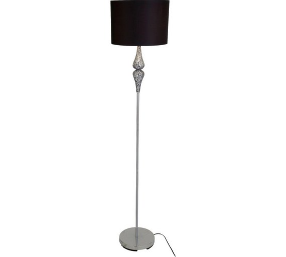 Buy heart of house eloise crackle floor lamp black at argos heart of house eloise crackle floor lamp black aloadofball Choice Image