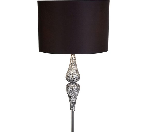 Buy argos home eloise crackle floor lamp black limited stock click to zoom aloadofball Choice Image