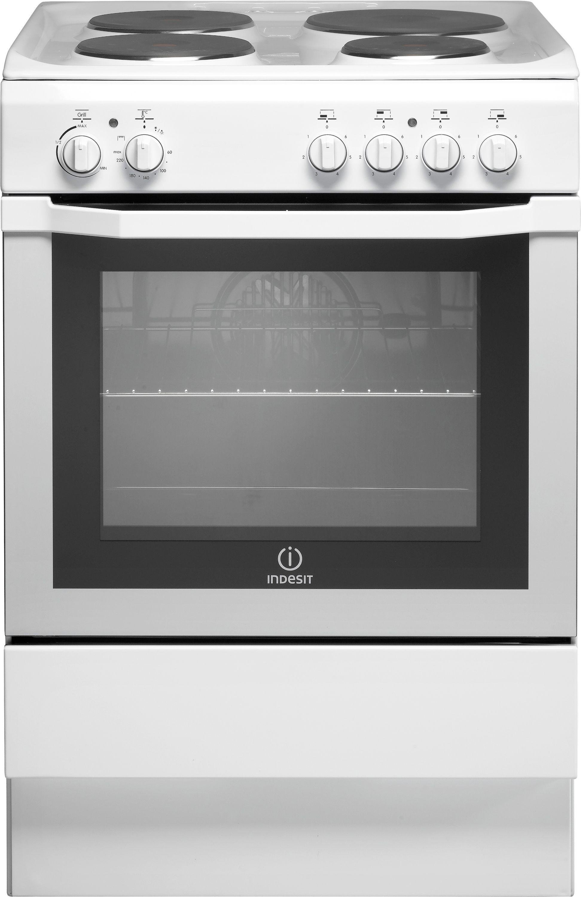 Indesit I6EVAW/ Freestanding Cooker - White Best Price, Cheapest Prices