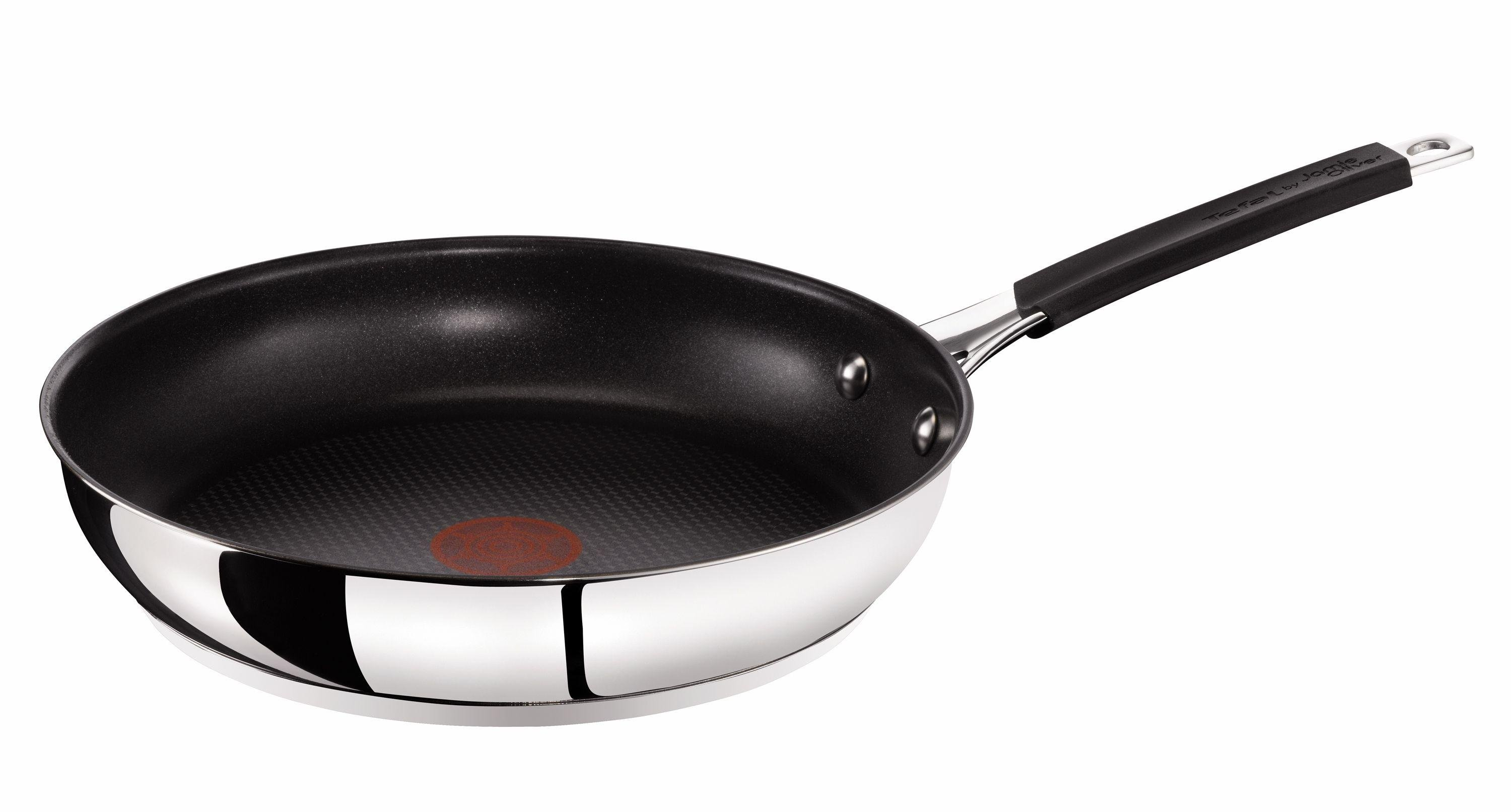Image of Jamie Oliver by Tefal - Stainless Steel 24cm Frying Pan