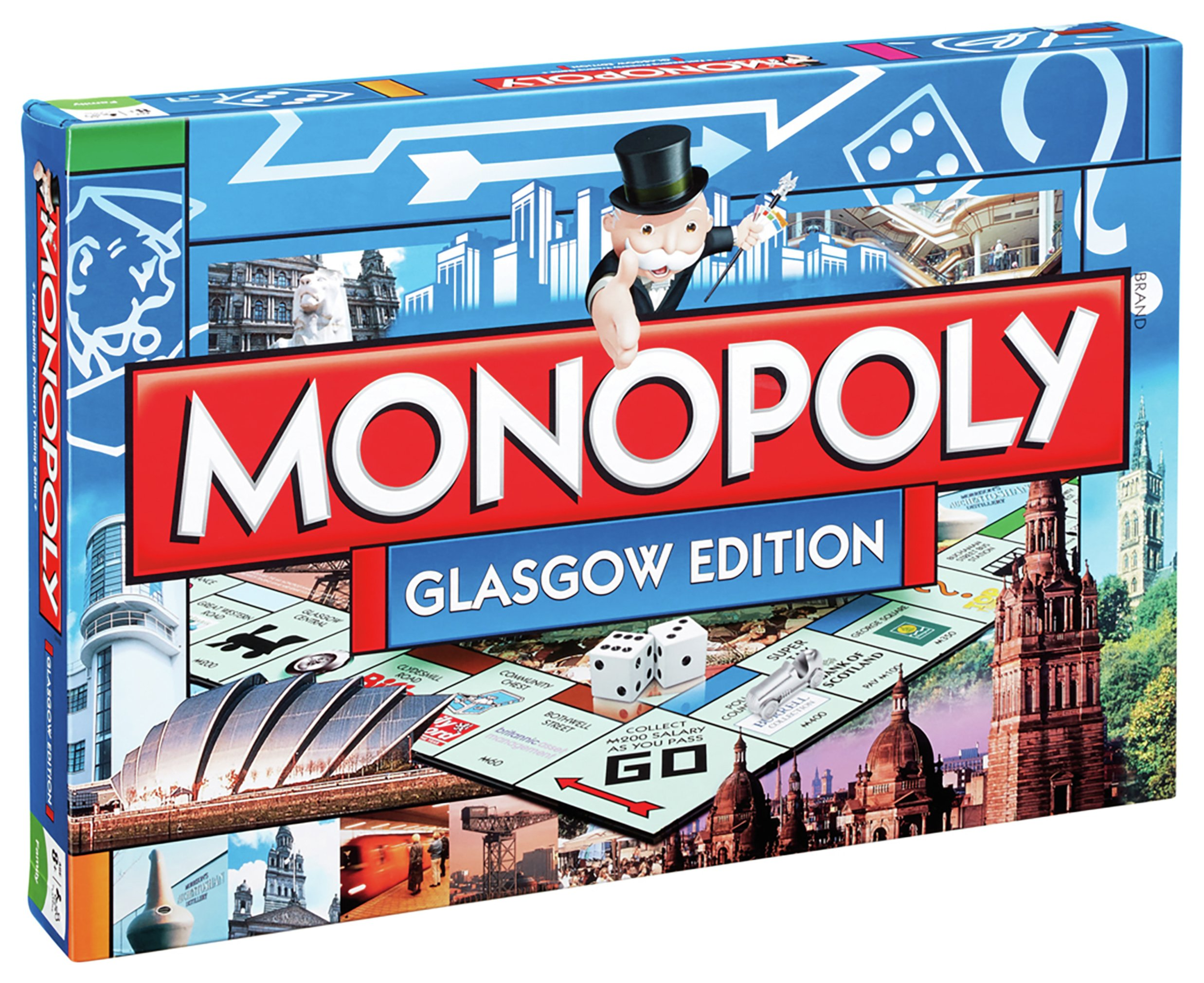 Glasgow Monopoly Board Game.