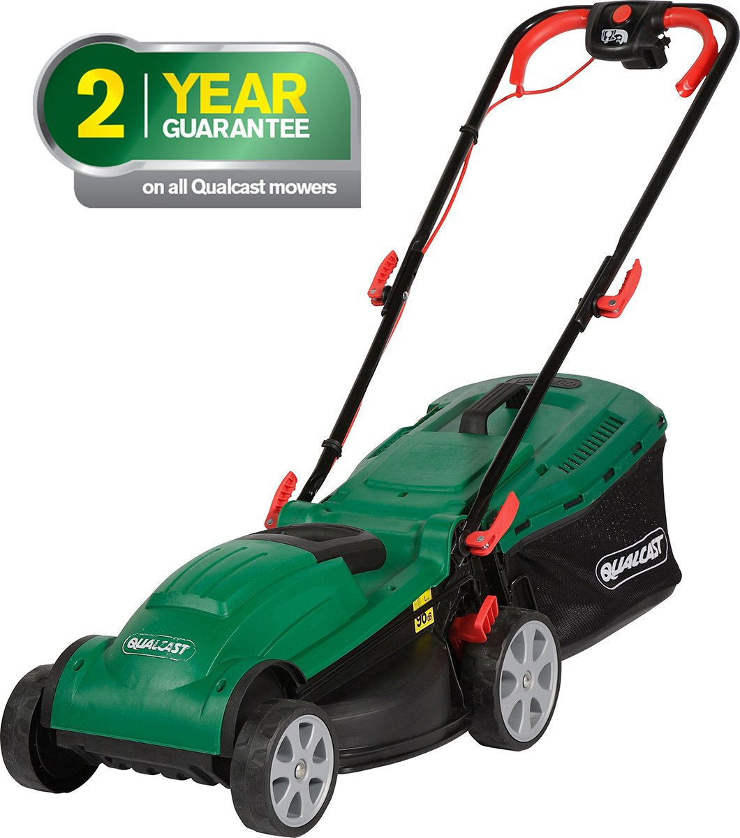 Qualcast - Corded Rotary - Lawnmover - 1400W lowest price