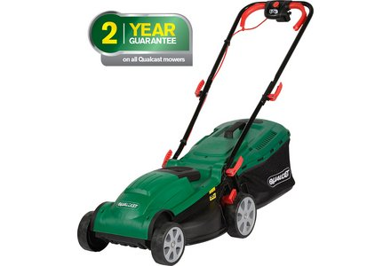 Image of the Qualcast Corded Rotary Lawnmower - 1400W.