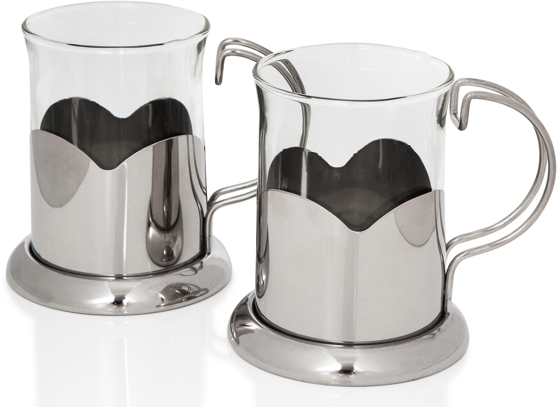 Sabichi 2 Glass Mug Set.