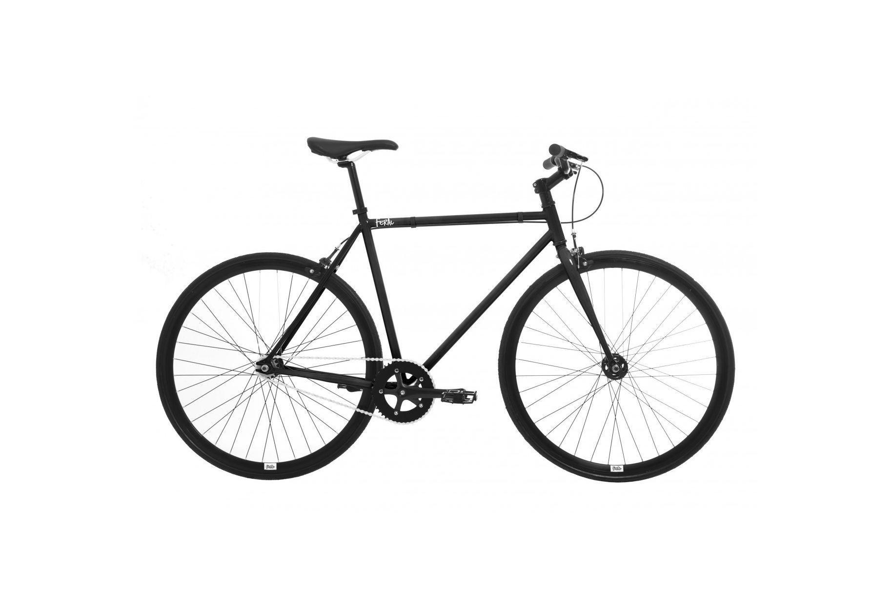 Image of Feral Fixie 55cm Frame Road Bike Black - Men's.