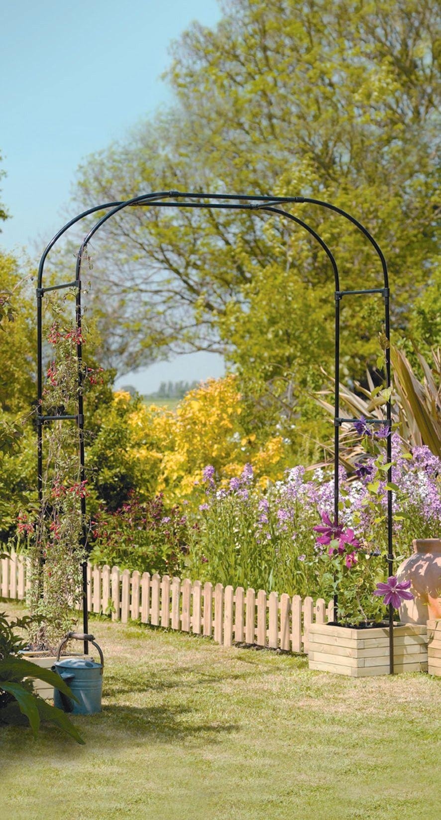 Buy Gardman Extra Wide Garden Arch at Argoscouk Your Online