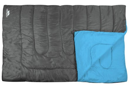 Image of a Trespass 400GSM Double Envelope Sleeping Bag.