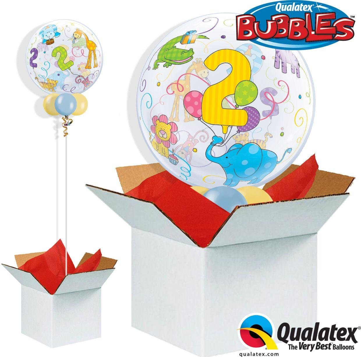 Argos - Age 2 Jungle Animals - Bubble - Balloon in a...