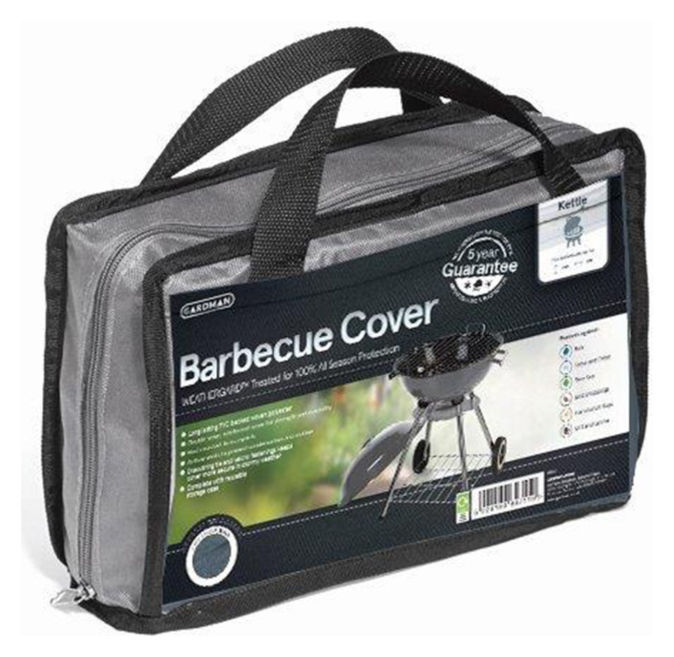 Image of Gardman Kettle Barbecue Cover - Grey.