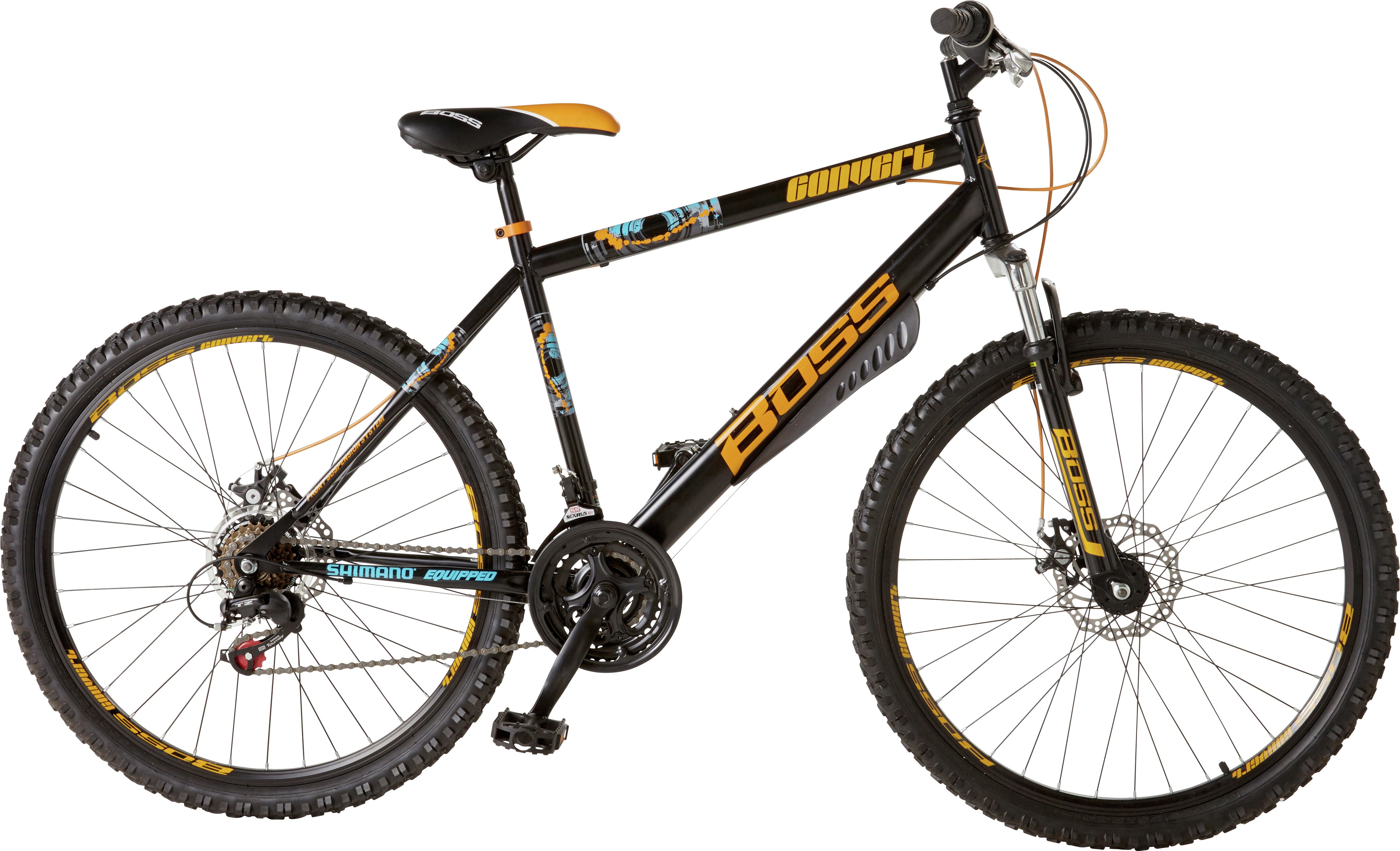 Image of Boss Convert Front Suspension Mountain Bike