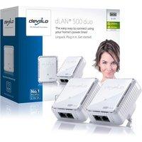 Devolo - 500Mbps dLAN Powerline - Starter Kit - 2 Pack