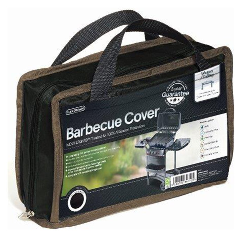 Gardman Large Wagon and Trolly Barbecue Cover - Black. lowest price