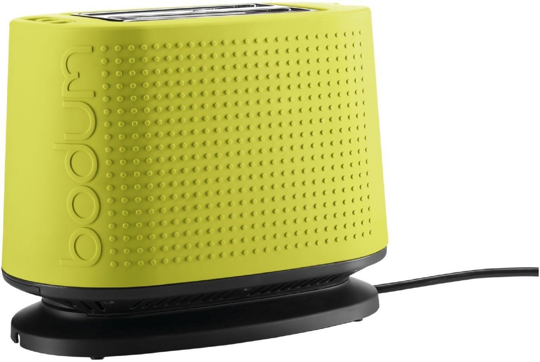 Image of Bodum - Bistro 2 Slice Toaster - Lime Green