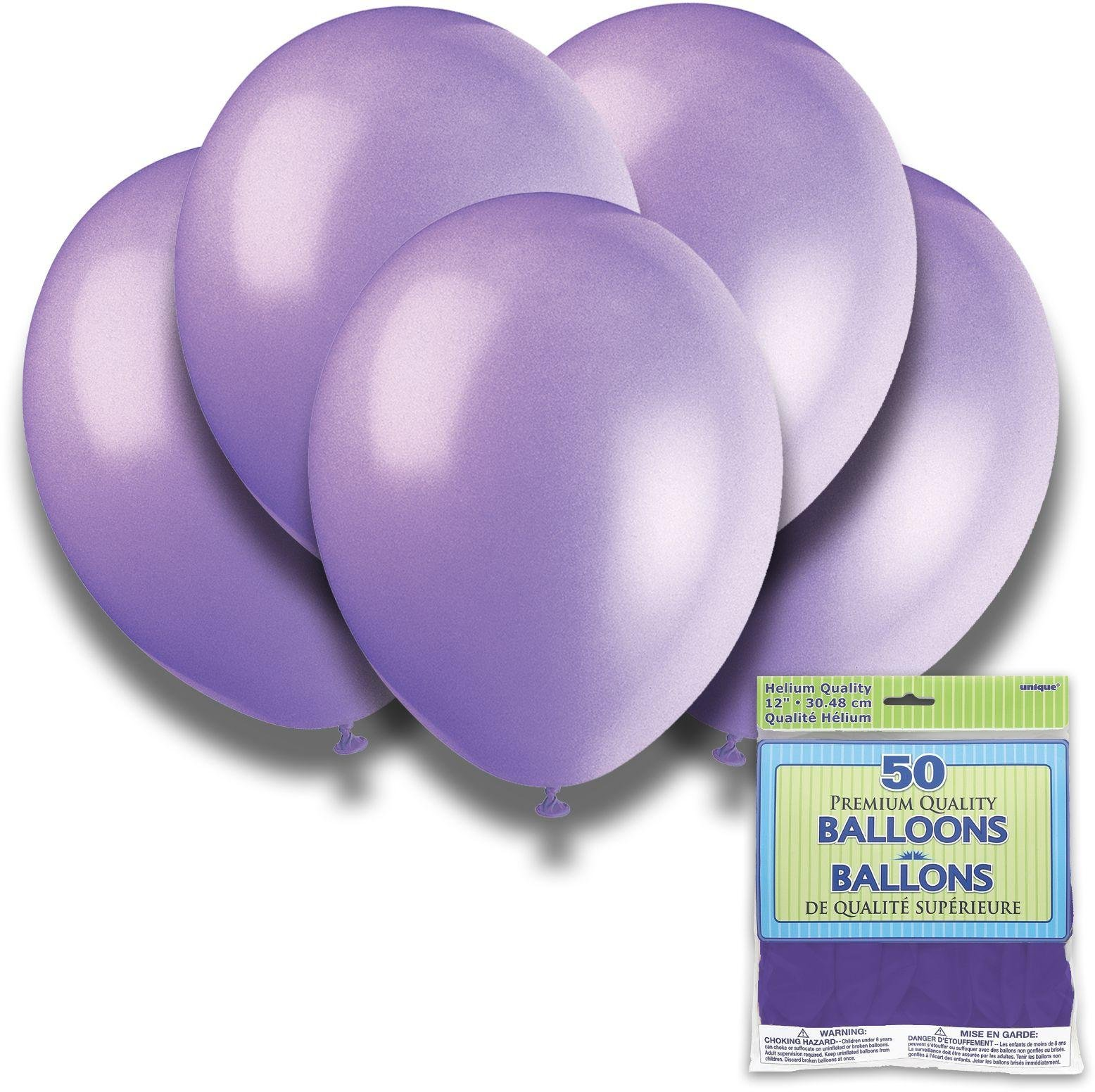 Argos - Lilac Lavender - 12 Inch Premium Balloons - Pack of...