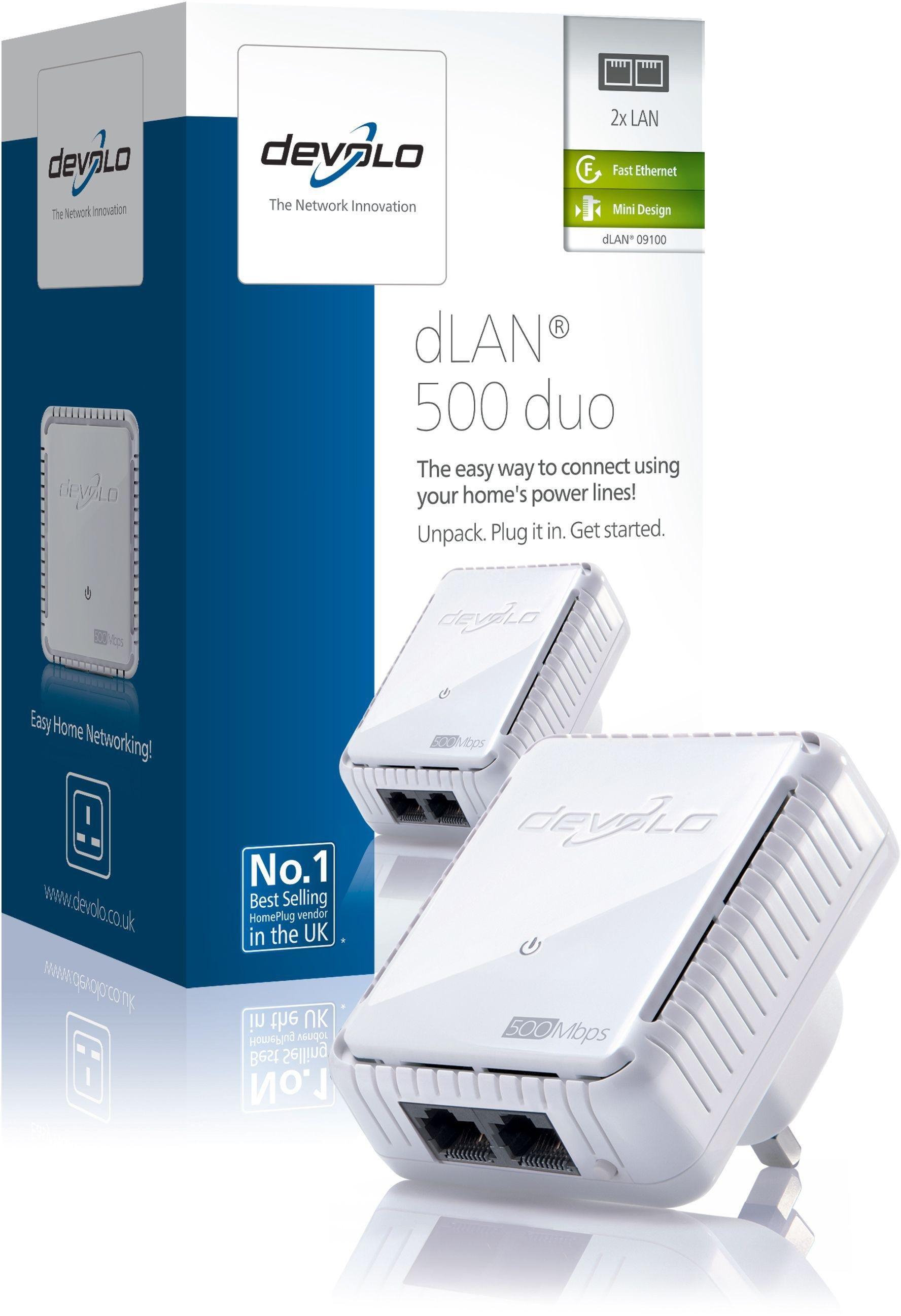 Image of Devolo - 500Mbps dLAN Powerline