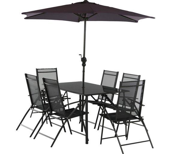 6 Seater Metal Garden Furniture Buy home milan 6 seater metal patio set garden table and chair home milan 6 seater metal patio set workwithnaturefo