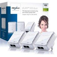 Devolo - 500Mbps dLAN Powerline Network Kit