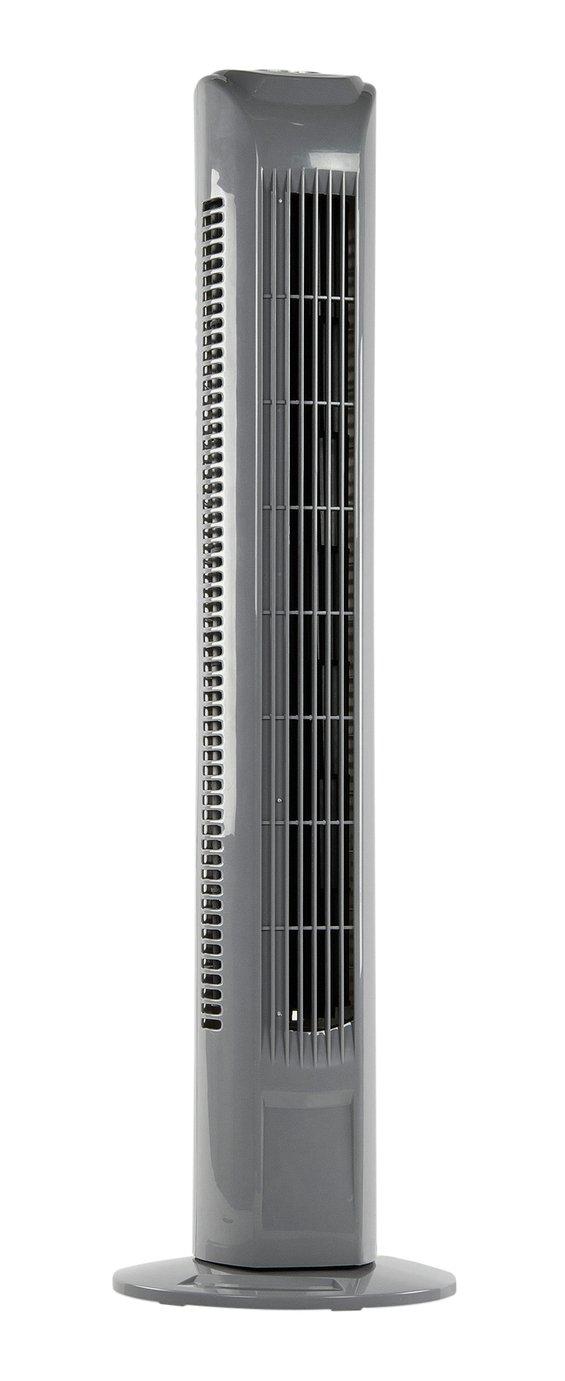 Challenge Grey Tower Fan