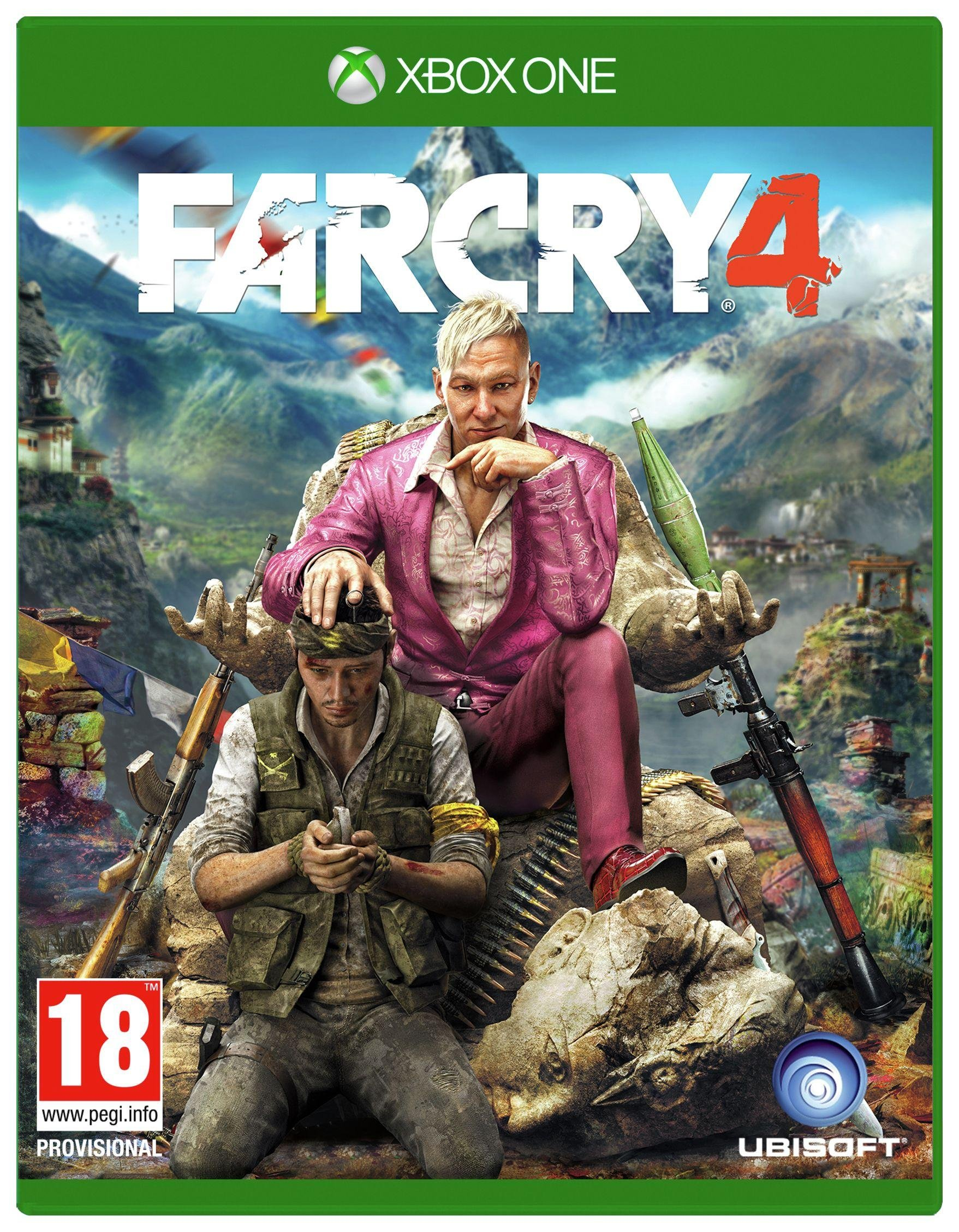 Image of Far Cry 4 Xbox One Game