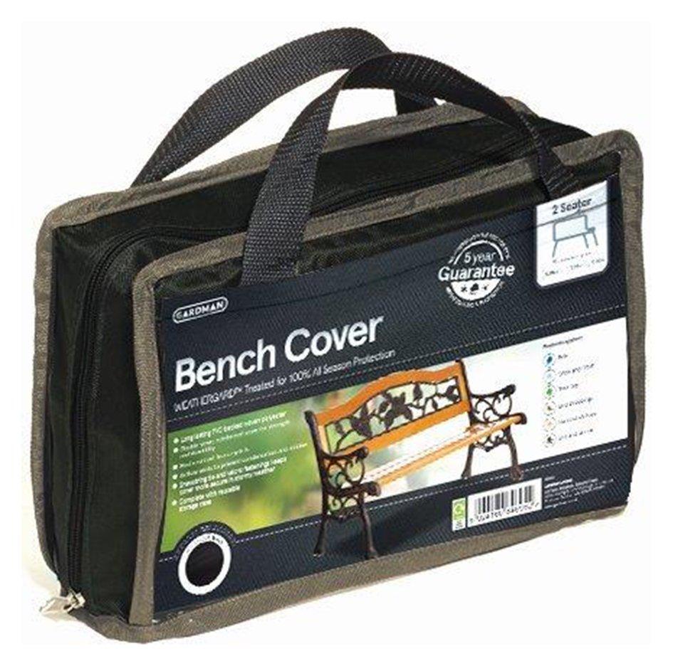Gardman 2 Seater Bench Cover - Black. lowest price