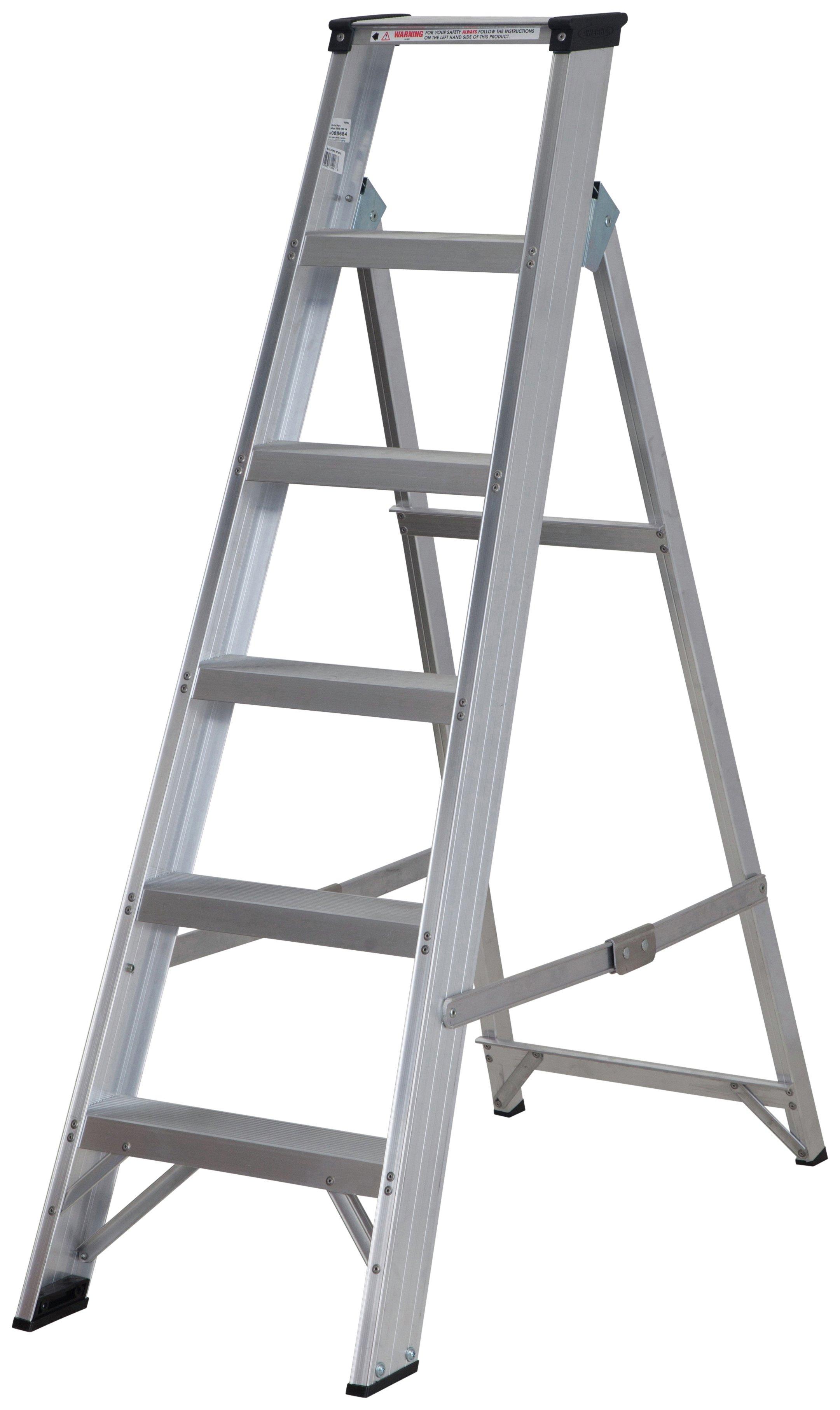 Abru - 6 Tread Builders Stepladder 260m Reach Height*
