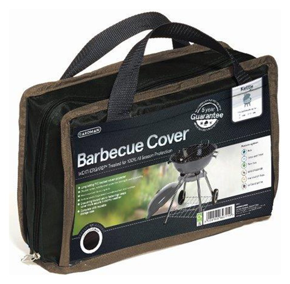 Image of Gardman Kettle Barbecue Cover - Black.
