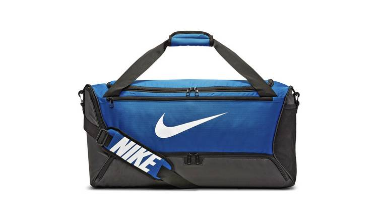 Nike Brasilia Medium Holdall - Blue