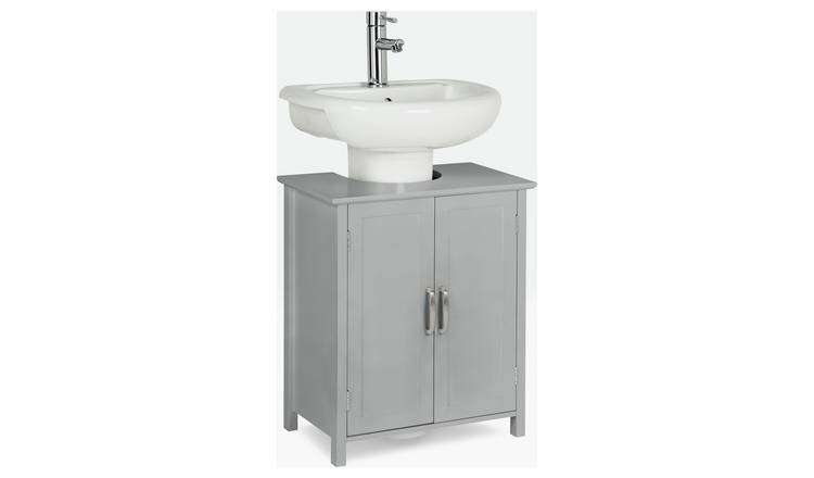 Argos Home Tongue & Groove Under Sink Unit - Grey
