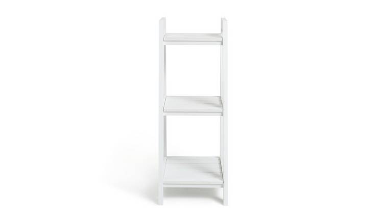 Argos Home 3 Tier Ladder Storage Unit - White