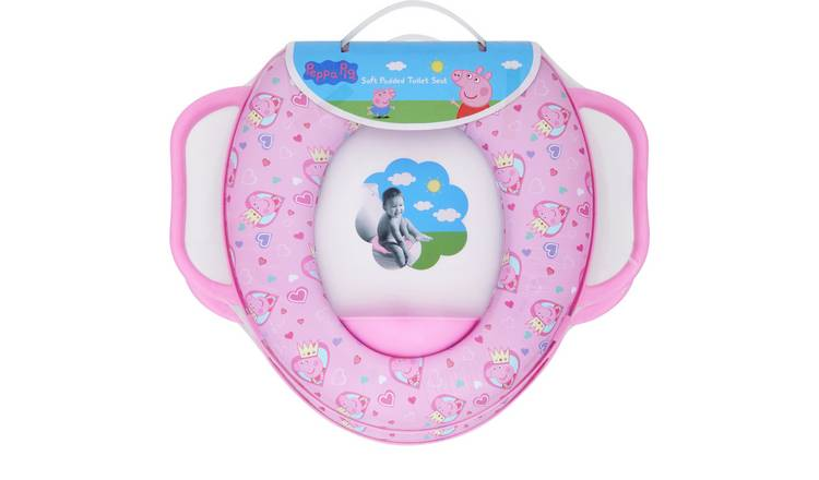 Peppa Pig Soft Padded Toilet Seat